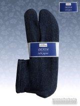 ストレッチニットデニムのような足袋■ネイビー系 23.0cm〜24.5cm対応