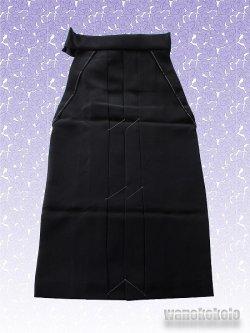 画像2: 無地袴 Mサイズ 黒系 GMH-black