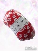 ウレタン帯枕 赤系/梅柄 No.2151