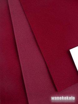 画像2: 国産浴衣帯(両面帯) リバーシブル 赤系/ガーネット系 MO-286