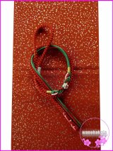 振袖用正絹帯〆・帯揚げセット オレンジ系×グリーン系/オレンジ系金タタキ柄 FGA-240