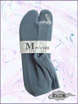 男性用ストレッチ刺繍足袋 Fサイズ ブルーグレー系/鷹柄 24.0cm〜26.0cm対応