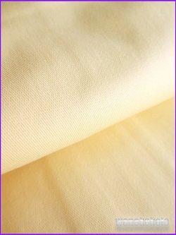 画像2: レディース ストレッチカラーデニム着物 無地 LLサイズ クリームイエロー系 SCDNLLL-3