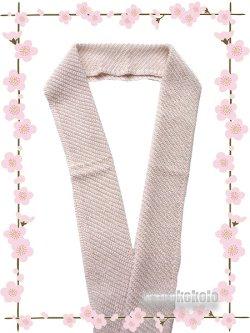 画像1: ビーズ半衿★Handmade ロイヤルキャビア★ピンク系 5