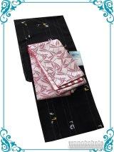 洗える着物(紗小紋)Fサイズ+半幅帯(小袋帯) セット 涼-15